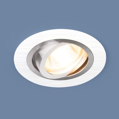 Алюминиевый точечный светильник 1061/1 MR16 WH белый