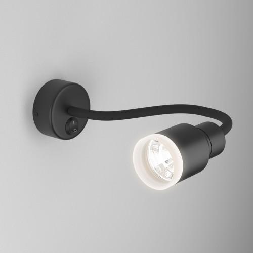 Molly LED черный Светодиодный светильник с гибким основанием MRL LED 1015