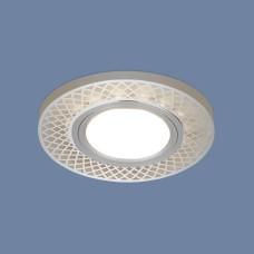 Встраиваемый потолочный светильник со светодиодной подсветкой 2232 MR16 CH хром