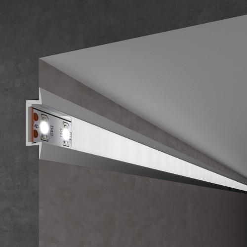 Встраиваемый алюминиевый профиль для светодиодной ленты LL-2-ALP007