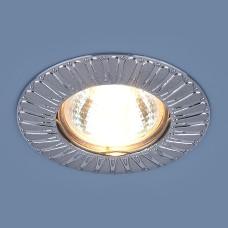 Точечный светильник для подвесных, натяжных и реечных потолков 7203 MR16 SCH сатин хром
