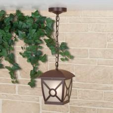 Columba H коричневый уличный подвесной светильник IP33 GL 1022H