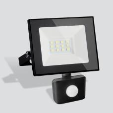 Прожектор Elementary (с датчиком) 021 FL LED 10W 6500K IP44 021 FL LED 10W 6500K IP44