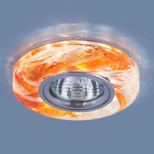 Точечный светодиодный светильник 2191 MR16 OR оранжевый