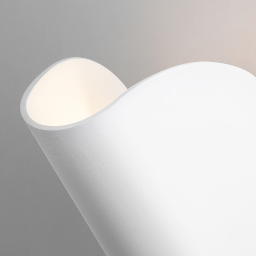 Taco белый уличный настенный светодиодный светильник IP54 1632 TECHNO LED