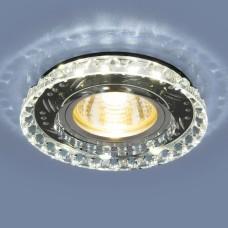 Точечный светодиодный светильник 8351 MR16 CL/BK прозрачный/черный