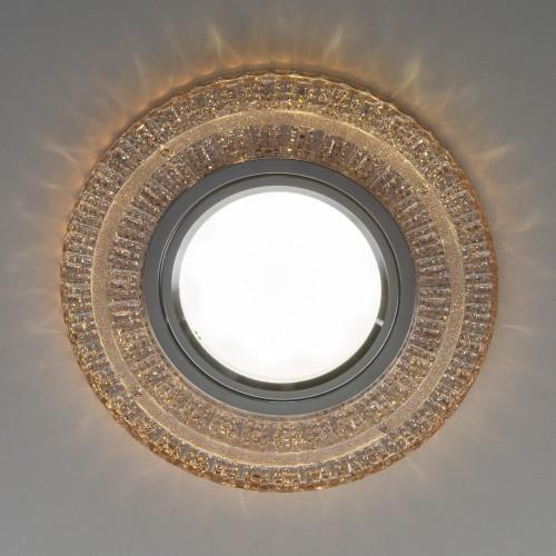Встраиваемый точечный светильник с LED подсветкой 2225 MR16 GC тонированный