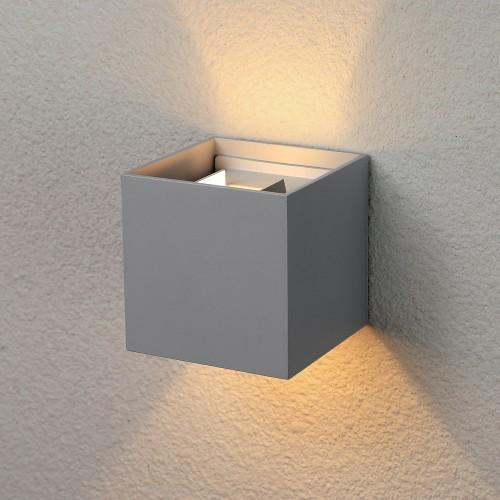 Winner серый уличный настенный светодиодный светильник 1548 TECHNO LED