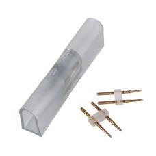 Переходник для одностороннего светодиодного гибкого неона LS001 220V 2835 (10 шт.) PSL-01