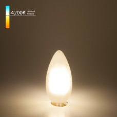 Светодиодная лампа Свеча BL113 7W 4200K E14 белый матовый