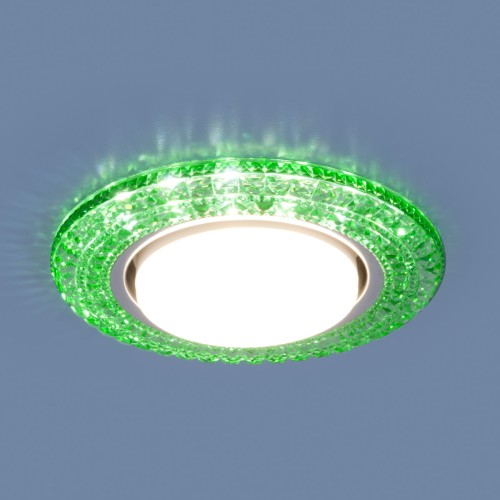 Точечный светильник со светодиодами 3030 GX53 GR зеленый