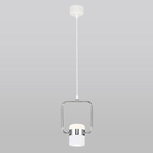 Накладной потолочный светодиодный светильник 50165/1 LED хром/белый