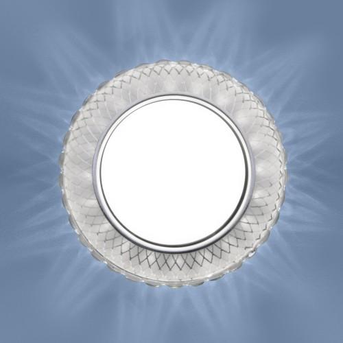 3034 GX53 SL/WH зеркальный/белый 3034 GX53