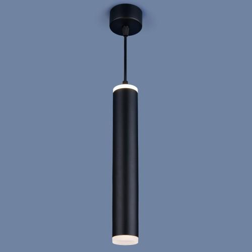 Накладной потолочный светодиодный светильник DLR035 12W 4200K черный матовый
