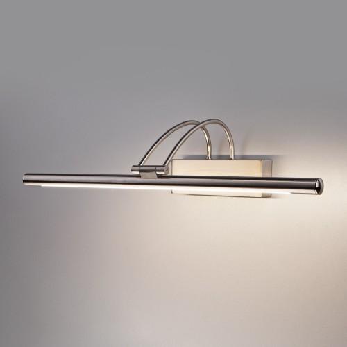 Simple LED никель Настенный светодиодный светильник MRL LED 10W 1011 IP20
