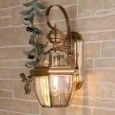 уличный настенный светильник 1032 Chatel D медь