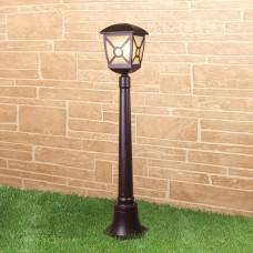 Columba F коричневый уличный светильник на столбе IP44 GL 1022F