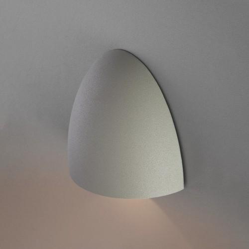 Rongo алмазный серый уличный настенный светодиодный светильник 1610 TECHNO LED