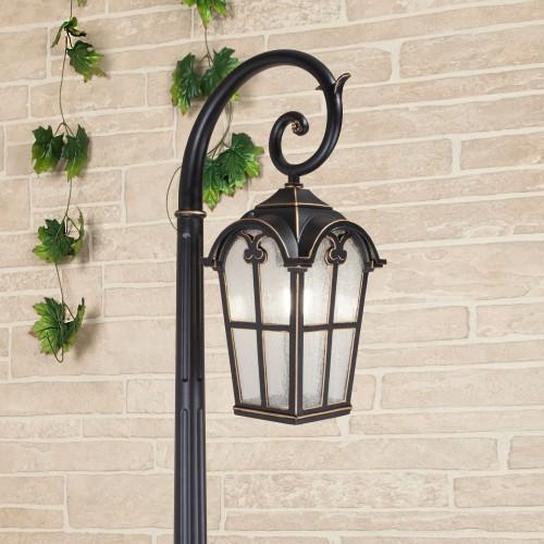 Mira F черное золото уличный светильник на столбе IP33 GL 1001F