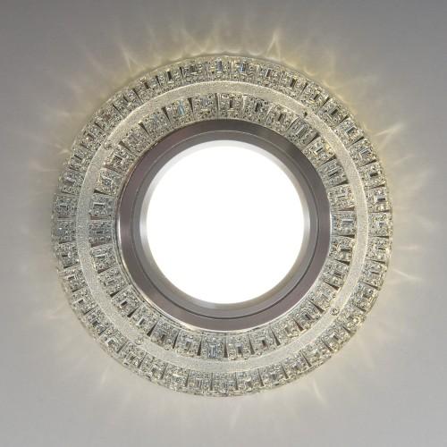 Встраиваемый точечный светильник с LED подсветкой 2225 MR16 CL прозрачный