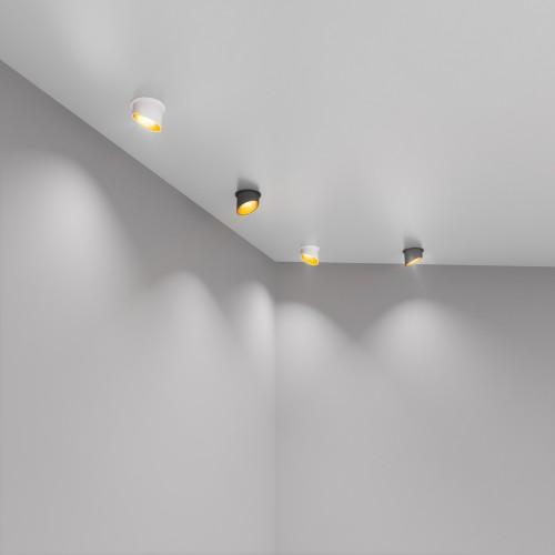 Встраиваемый точечный светильник 7005 MR16 WH/GD белый/золото
