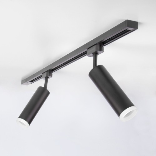 Трековый светодиодный светильник для однофазного шинопровода Oskar Черный 10W 4200K LTB28
