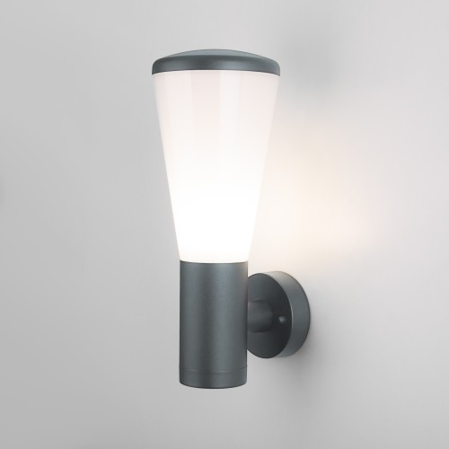 1416 TECHNO серый Настенный уличный светильник IP54 1416 TECHNO
