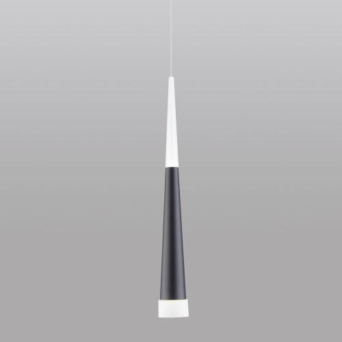 Накладной потолочный светодиодный светильник DLR038 7+1W 4200K черный матовый