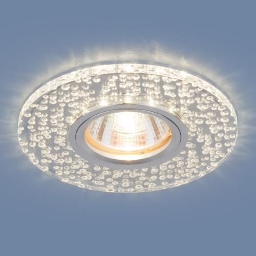 Точечный светодиодный светильник 2199 MR16 CL зеркальный/прозрачный
