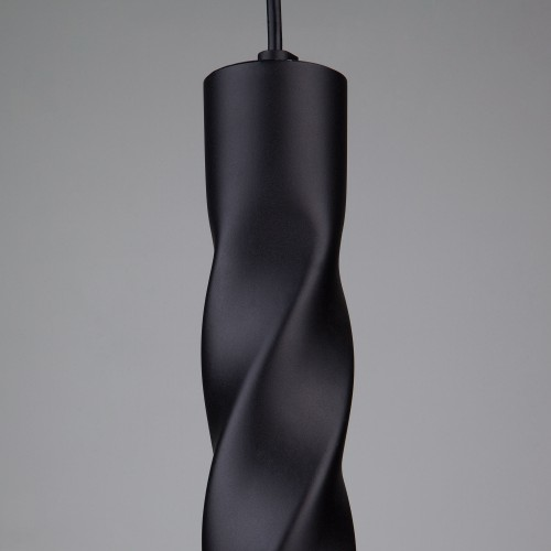 Накладной потолочный светодиодный светильник 50136/1 LED черный