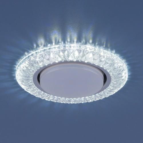 Точечный светильник со светодиодами 3020 GX53 CL прозрачный