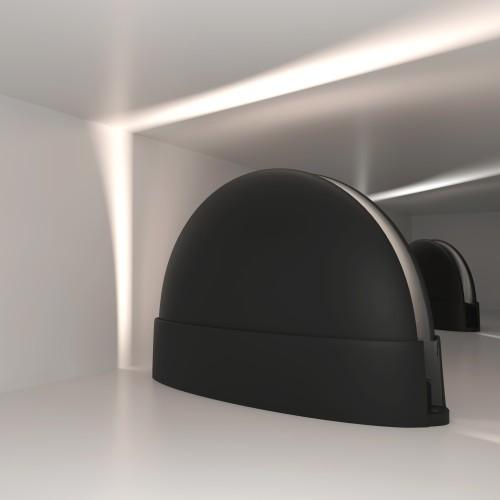 1630 TECHNO LED чёрный Светодиодный светильник IP54 1630 TECHNO LED