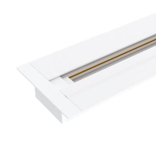 Встраиваемый однофазный шинопровод 2 метра белый