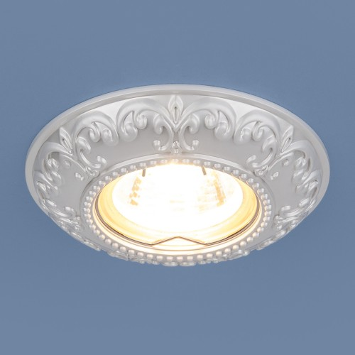 Встраиваемый светильник 7009 MR16 WH белый