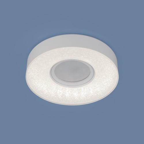 Встраиваемый потолочный светильник со светодиодной подсветкой 2241 MR16 WH белый