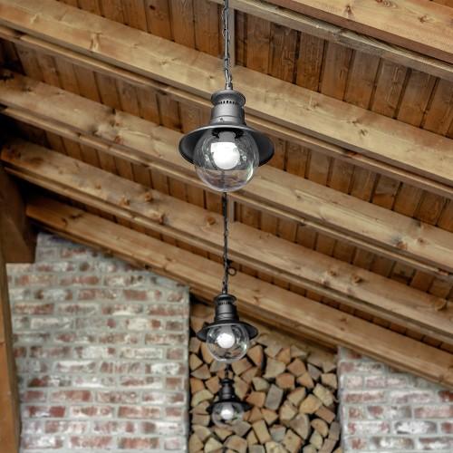 Talli H черный уличный подвесной светильник IP44 GL 3002H