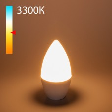 "Светодиодная лампа ""Свеча"" C37 8W 3300K E14 BLE1402"