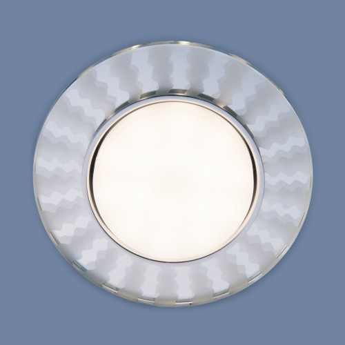 3038 GX53 SL/WH зеркальный/белый 3038 GX53