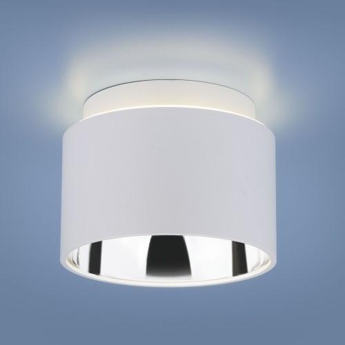 Накладной потолочный светильник 1069 GX53 WH белый матовый