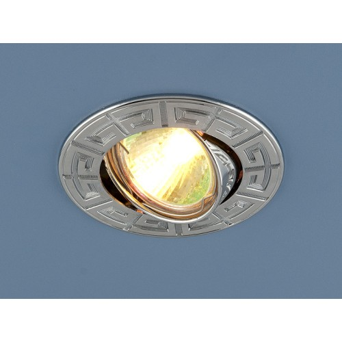 Точечный светильник для подвесных, натяжных и реечных потолков 120090 MR16 CH хром