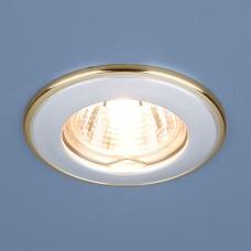 Точечный светильник 7002 MR16 WH/GD белый/золото