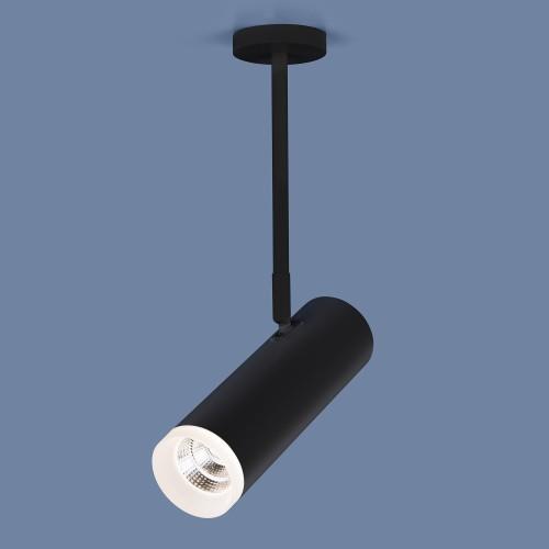 Накладной потолочный светильник DLS022 9W 4200K черный матовый