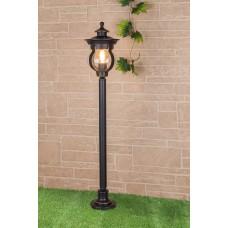 Barrel F черное золото уличный светильник на столбе IP44 GL 1025F