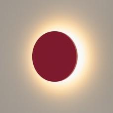 Concept S красный уличный настенный светодиодный светильник 1660 TECHNO LED