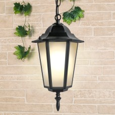 Уличный подвесной светильник IP44 GL 1004H черный