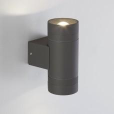 Sokar графит уличный настенный светодиодный светильник 1605 TECHNO LED