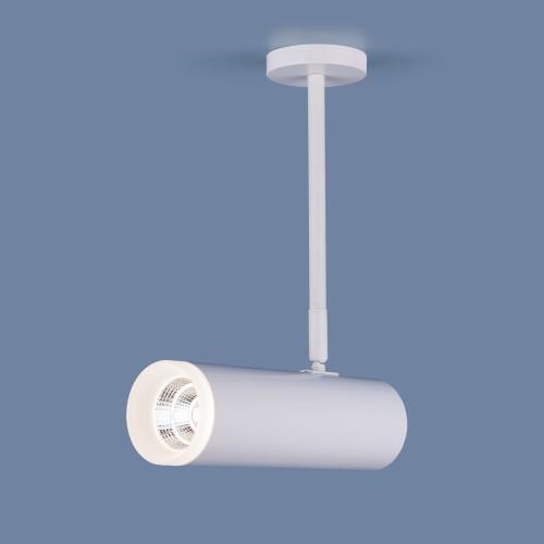 Накладной потолочный светильник DLS022 9W 4200K белый матовый
