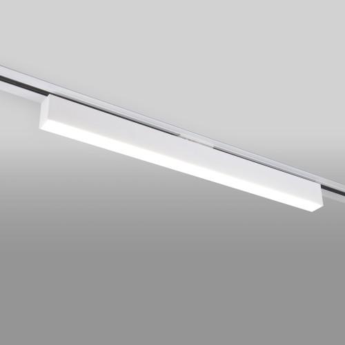 Трековый светодиодный светильник для однофазного шинопровода X-Line 20W 4200K белый матовый X-Line белый матовый 20W 4200K (LTB54) однофазный