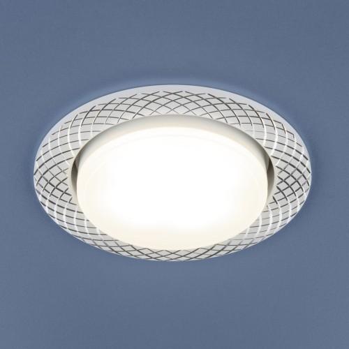 Алюминиевый точечный светильник 1071 GX53 WH белый