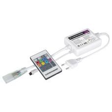Контроллер для светодиодной ленты RGB 220V с ПДУ (ИК) IP20 LSC 001